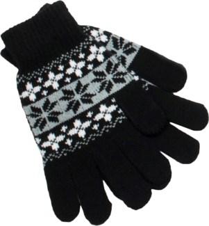 Gloves Black/White/Gray - Stadium Series