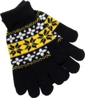 Glove Black/White/Yellow - Stadium Series