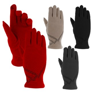 Fashion Glove 3/4 Length with Shimmer Pattern - Sold out for the season!