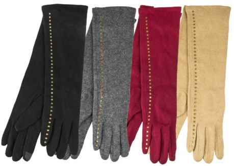 Women's Full Length Wool Gloves