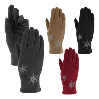Women's Snowflake Touch Glove