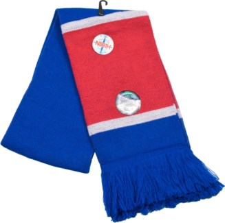 Scarf with Fringe Blue/Red/White  - Stadium Series