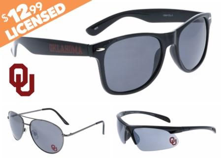 Oklahoma NCAA Sunglasses Promo