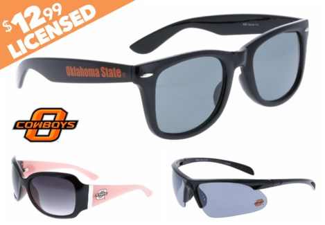 Oklahoma State NCAA Sunglasses Promo