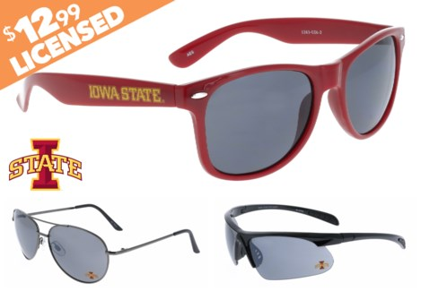 NCAA Sunglasses Promo - Iowa State