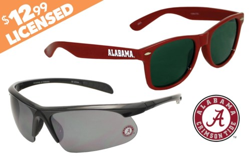 NCAA Sunglasses Promo - Alabama