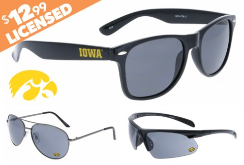 Iowa NCAA Sunglasses Promo