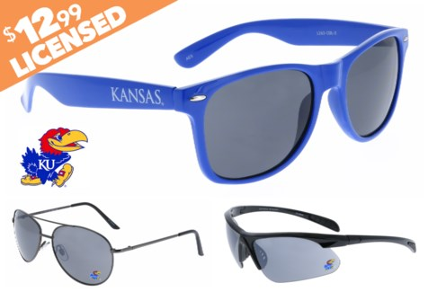 Kansas NCAA Sunglasses Promo