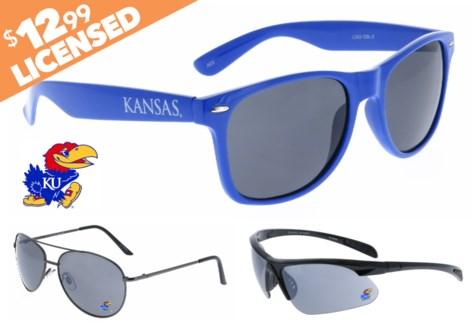 Kansas NCAA Sunglasses Promo