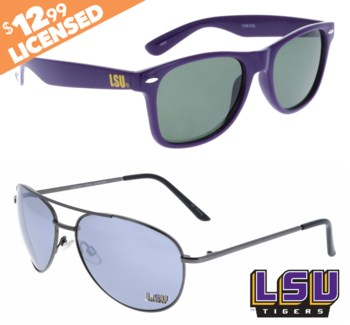 LSU NCAA Sunglasses Promo