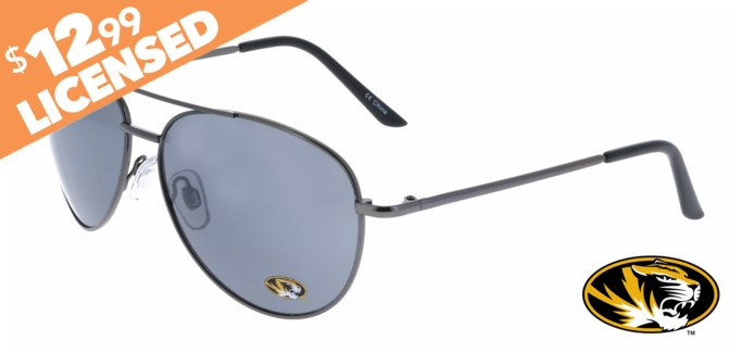 Missouri NCAA Sunglasses Promo