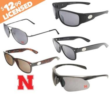 Nebraska NCAA Sunglasses Promo