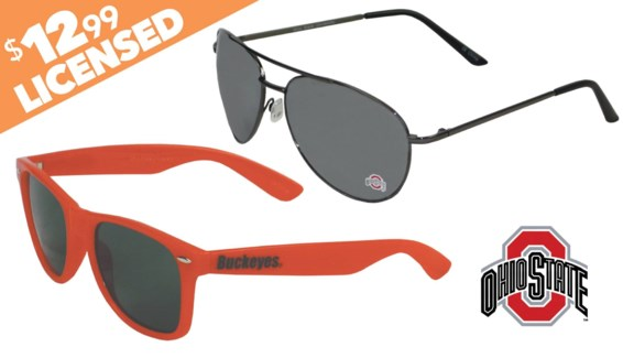 Ohio State NCAA Sunglasses Promo