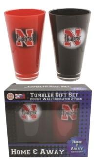 Nebraska 2pc Tumbler Set
