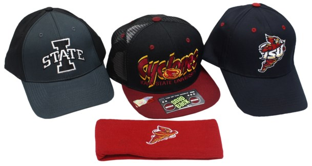 NCAA IA State Cyclones Hats