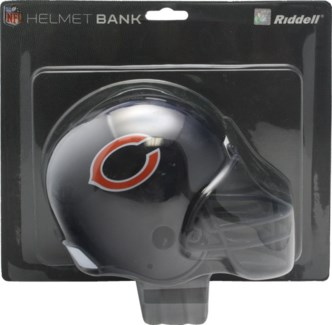 Chicago Bears Bank Helmet