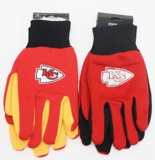 NFL Gloves Kansas City Chief