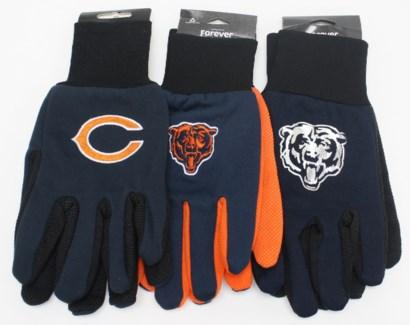 NFL Gloves Chicago Bears