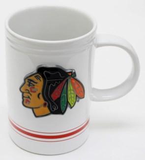 NHL 16oz Varsity Mug Chicago Hawks