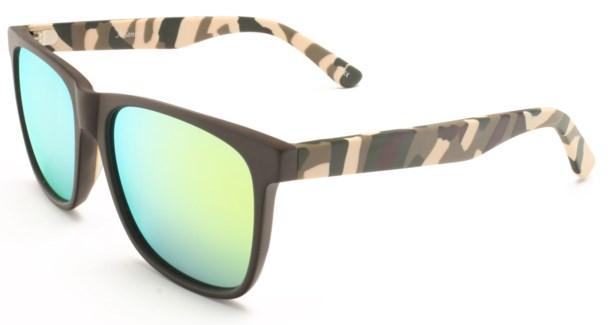 Atlantis Luxury Handmade Sunglasses (Matte Solid Brown)