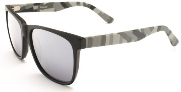 Atlantis Luxury Handmade Sunglasses (Matte Solid Black)