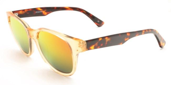 Atlantis Luxury Handmade Sunglasses (Crystal Peach)