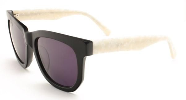 Atlantis Luxury Handmade Sunglasses (Shiny Black)