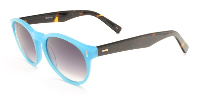 Atlantis Luxury Handmade Sunglasses (Blue)
