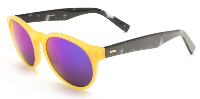 Atlantis Luxury Handmade Sunglasses (Yellow)