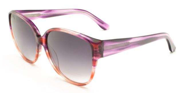 Atlantis Luxury Handmade Sunglasses (Purple Orange)