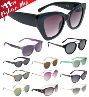 iShield Red Tag Sunglasses Women's Mix