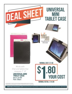 Universal Mini Tablet Case
