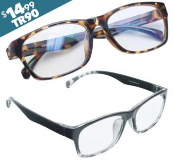 iShield Anti Reflective Coated Reading Glasses - Classic Full Frame
