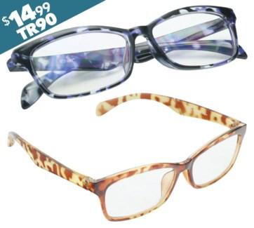 iShield Anti Reflective Coated Reading Glasses -Traditional Style