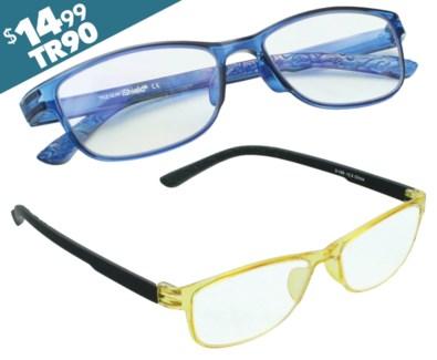 iShield Anti Reflective Coated Reading Glasses -  Ultra Thin Frame