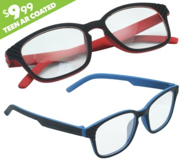 iShield Anti Reflective Clear Lens for Kids and Teens - Active Style