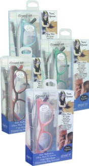 iShield Anti Reflective Clear Lens for Kids and Teens 48 pc Mix