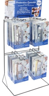 iShield Clear Lens AR Coated Eyewear with Counter Display - 24pc