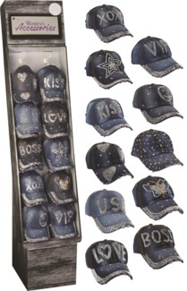 Bling Hats Shipper - 36pcs