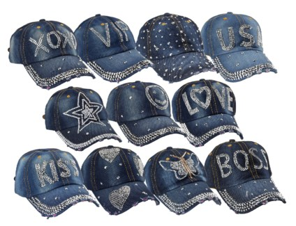 Alison - Bling Hat Assortment