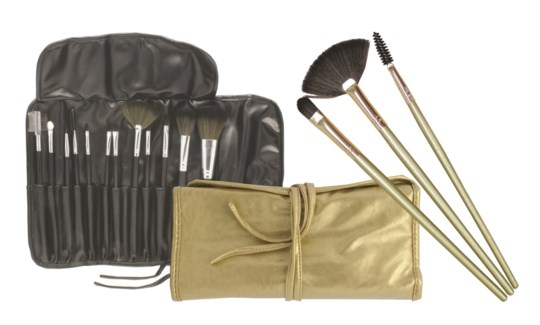 12 pc Cosmetic Brush Set