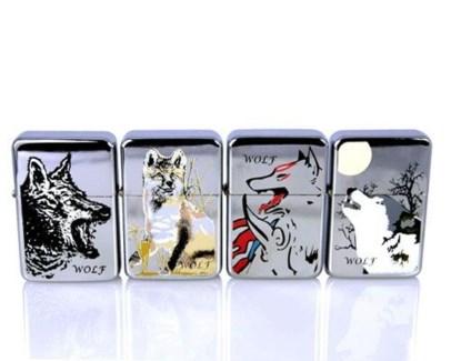 Wolf Oil Lighter