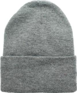 Solid Colored Beanie - Dark Grey