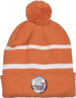 Pom Beanie Burnt Orange/White - Stadium Series