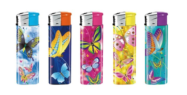 Butterfly Electronic Lighter