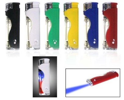 Electronic Lighter Blinking & LED