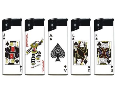 Poker Electronic Lighter