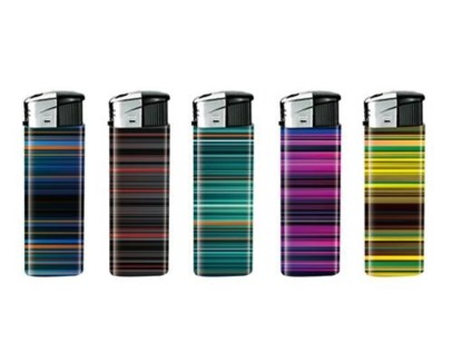 Color Stripe Electronic Lighter