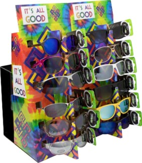 72 Pair of Promo Sunglasses with 2 POP Displays