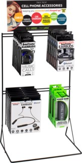 True Tech Tech Accessories Counter Display -Earbuds and Power Banks